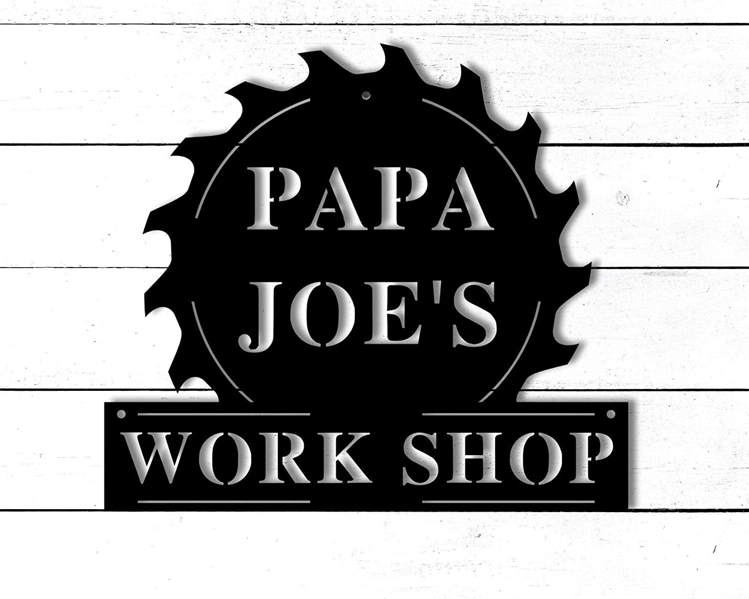 Tamengi Personalized Fathers Day Regular dealer Sign for M Work Ranking TOP11 Dad Shop Papas