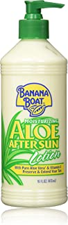Banana Boat After Sun Lotion Aloe, 16 Fl Oz. (Pack of 2)