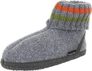 Haflinger Unisex's Hüttenschuh Paul Hi-Top Slippers