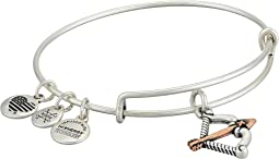 Cupid's Arrow Two-Tone Bangle Bracelet