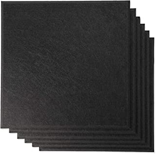 RHINO Acoustic Panels NRC Sound Proof Padding Wall Panels Echo Bass Isolation Shield Beveled Edge (12