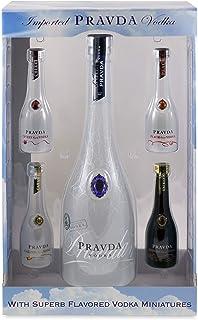 Pravda Wodka 1 x 0.7 l  4 x 0.05 l