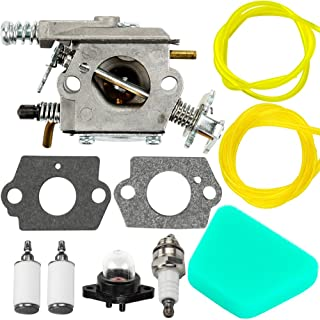 Mckin Carburetor for Poulan Chainsaw 1950 2050 2150 2375 Wild Thing 2375LE WT-891 WT-324 C1U-W8 C1U-W14 545081885 530069703