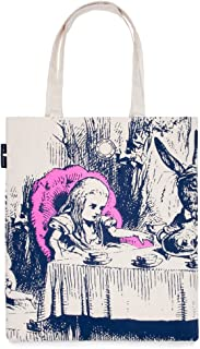 Out of Print Literary and Book-Themed Canvas Tote Carrying Bag for Book Lovers, Readers, and Bibliophiles