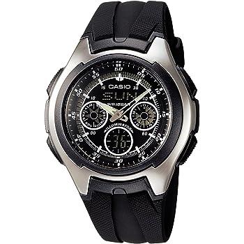 [カシオ]CASIO 腕時計 スタンダード AQ-163W-1B1JF メンズ