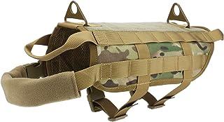 alexsport nylontraining caza Tactical Molle Chaleco de Perro con asas