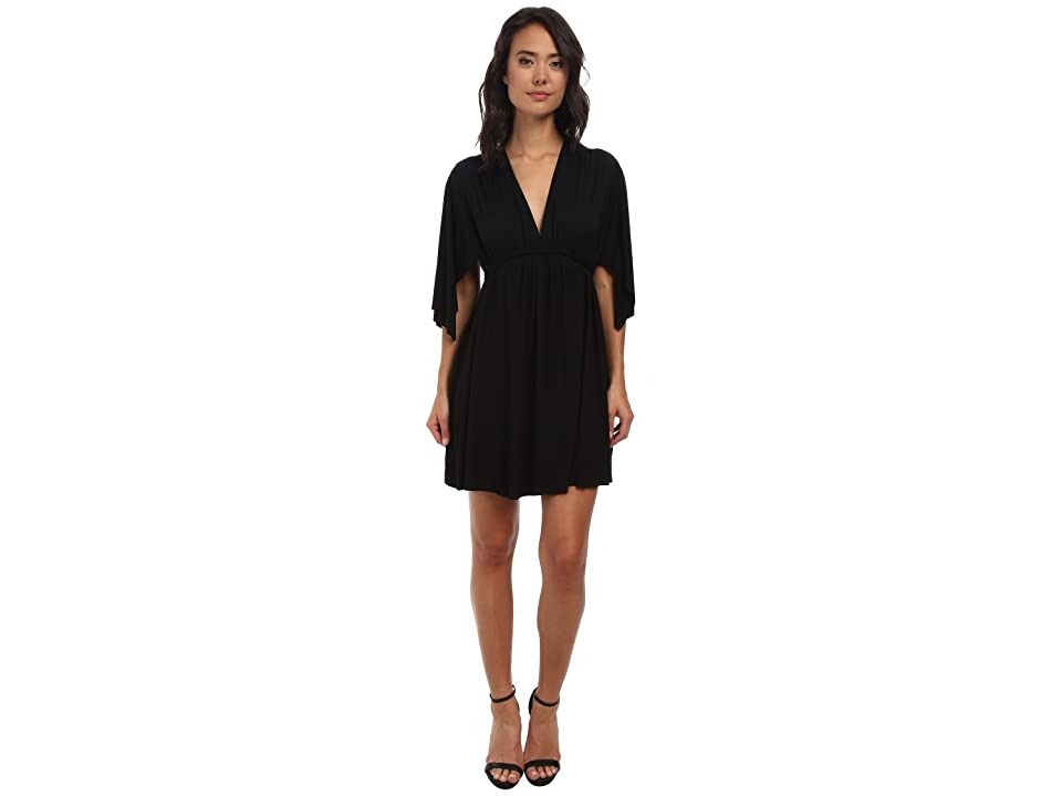 Rachel Pally Mini Caftan Dress (Black 2) Women