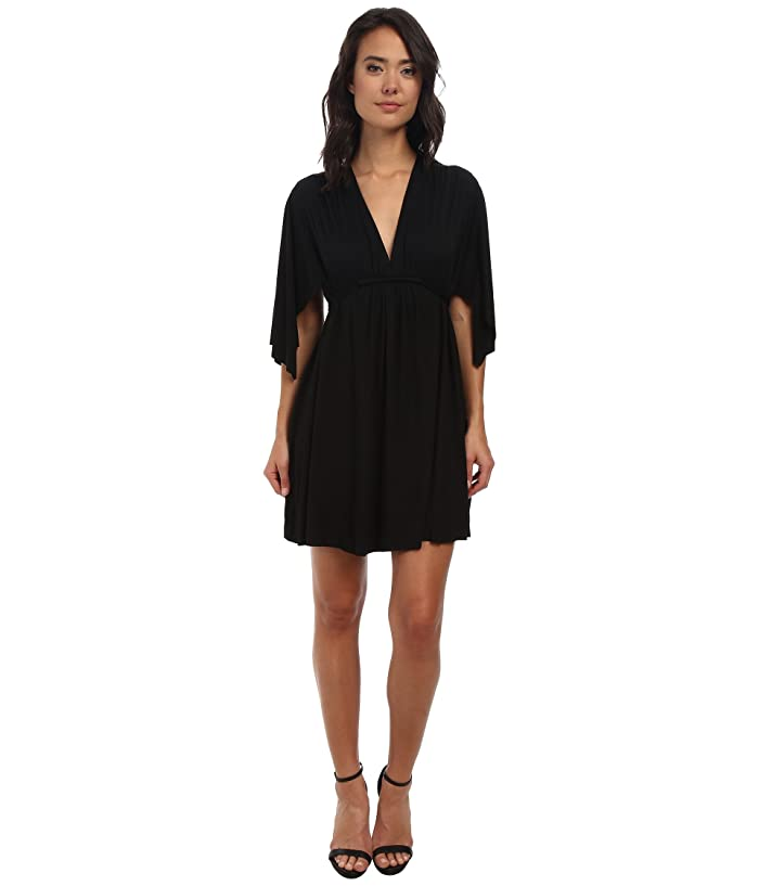 Rachel Pally Mini Caftan Dress (Black 2) Women's Dress
