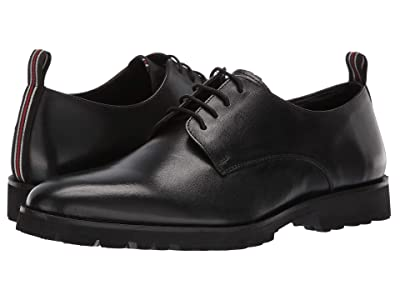 CARLOS by Carlos Santana Power Lite Oxford (Black Full Grain Calfskin Leather) Men