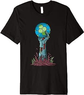 Zombie Hands Handball Funny Halloween Horror Scary Costume Premium T-Shirt