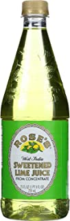 Roses Sweetened Lime Juice, 25 Fluid Ounce -- 12 per case.