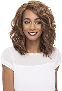 Vivica A Fox Hair Collection Finn - Natural Baby Lace Front Wig, New Futura Hair In Color, FS4/30, 4.7 Ounce
