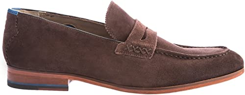 Oliver Sweeney Longbridge Suede Loafer in Coffee 10