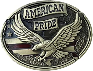 American Pride Soaring Eagle Belt Buckle