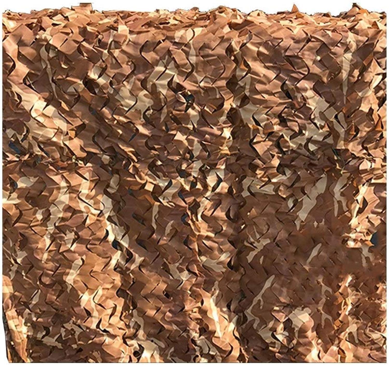 LQQGXL Sunshade net, Outdoor Sunshade, Sunscreen, Heat Insulation net, Camouflage, Flower Predection net, AntiAircraft Camouflage Camouflage net Waterproof Tarpaulin