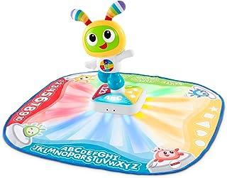 Fisher-Price Bebo - Alfombra de danza y juego, música e interactiva con 2 modos, versión francesa, para bebés de 9 meses y más, DTB18