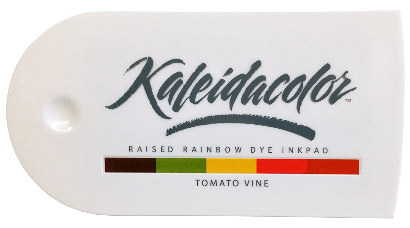 Imagine Crafts Tsukineko 5-Color Kaleidacolor Ink Pad, Tomato Vine