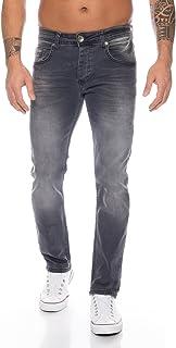 Rock Creek Men's Denim Stretch Regular Fit Jeans Stonewashed