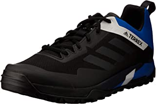 adidas Australia Men's Terrex Trail Cross SL Mountain Bike Shoes, Core Black/Carbon/Blue Beauty