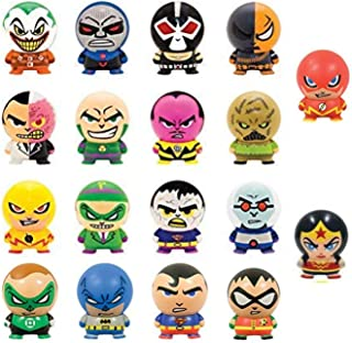 fb DC Superheroes & Villians Buildbables 18 Pieces