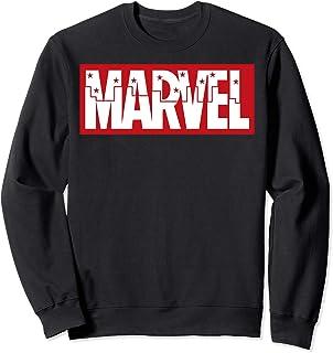 Marvel City Stars Inlay Logo Sweatshirt