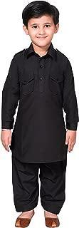 Boys Shirt Collar Pathani Kurta Shalwar kameez sherwani 936