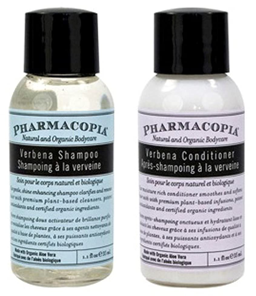 Pharmacopia Verbena Shampoo & Conditioner Set of 14 (7 of Each) 1.1oz Bottles