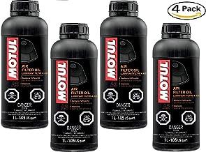Motul 103249-CS Air Filter Oil, 4 Pack, 33.81 Fluid_Ounces