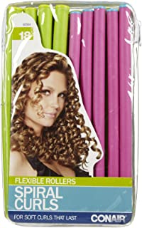 Conair Spiral Rollers,18 ct