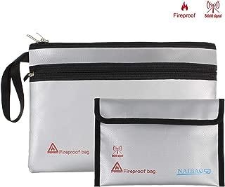 Fireproof Document Bag - 13.5x9.5