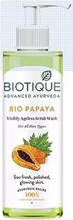 Biotique Papaya Visibly Ageless Scrub Wash Face Wash (200 ml)