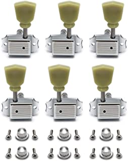 Metallor Vintage Guitar String Tuning Pegs Tuning Machines Tuning Keys Machines Heads Tuners Compatible with Les Paul LP S...