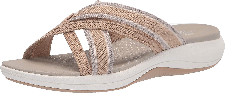 Clarks Women's Outlet SALE Mira Limited time sale Sandal Slide Isle