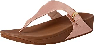 FITFLOP Women's Casual Skinny Toe Post, Apple Blossom, 10 US
