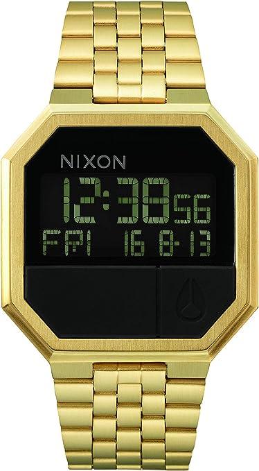 Nixon - Reloj de Cuarzo Digital Unisex con Correa de Acero Inoxidable