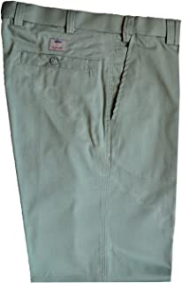 Mens Premium Chino Trouser Casual 100% Cotton 32-48 Active Elasticated Waist