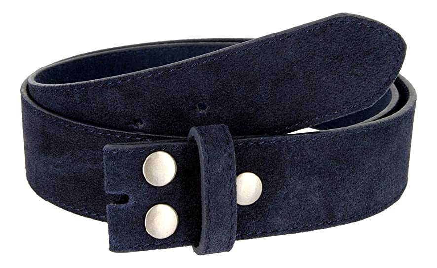 Suede Leather Casual Jean Belt Strap for Men - Mulitple Colors Available