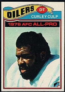 Football NFL 1977 Topps #280 Curley Culp AP Oilers
