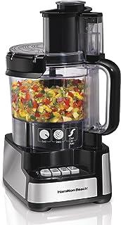 Hamilton Beach 70725A 12-Cup Stack and Snap Food Processor [並行輸入品]
