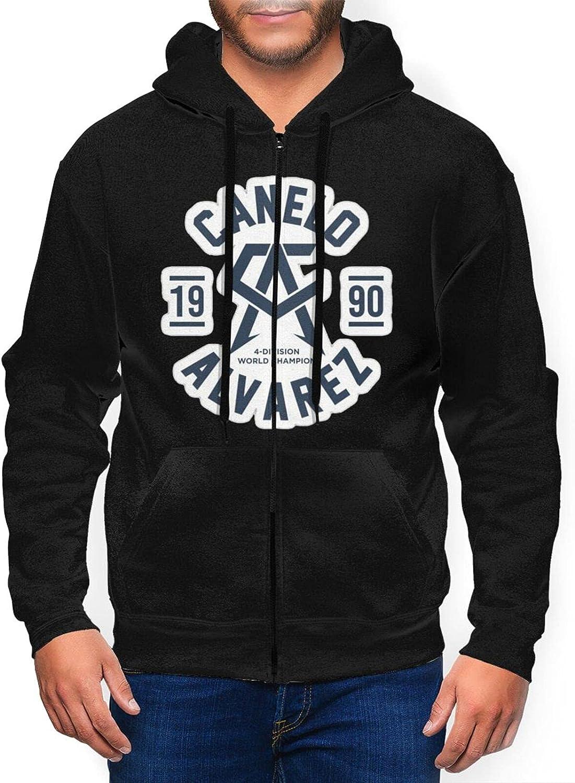 Berniellis Canelo Alvarez Men's Athletic Easy-to-use Sweatshirt A Cash special price Hooded Fit