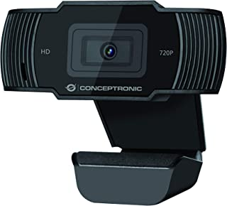 Conceptronic USB Webcam AMDIS03B 720p HD with Microphone 30fps Plug & Play