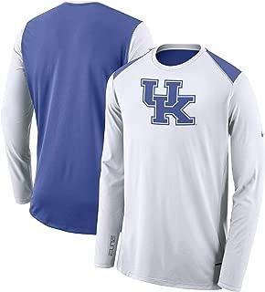 Nike Kentucky Wildcats Dri-Fit Elite Long Sleeve Shooter Shirt (Medium)