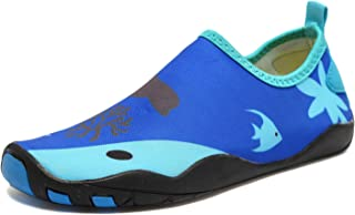 CIOR Kids Water Shoes Quick-Dry Boys and Girls Slip-on Aqua Beach Sneakers (Toddler/Little Kid/Big Kid)