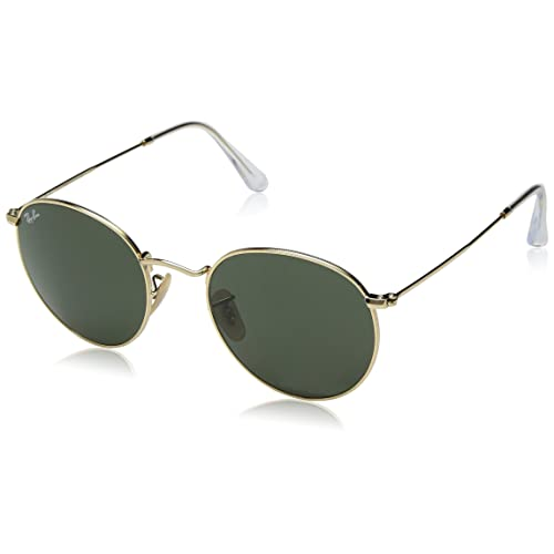 7e561a8cf Ray-Ban, Metal Round Sunglasses, Gold, Gunmetal, Black Metal Frames,