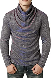 NPRADLA Fashion Casual Handsome Spring, Autumn,Winter Men Hoodies Sweatshirt Solid Cowl Neck Blouse Long Sleeve Fit Pollov...