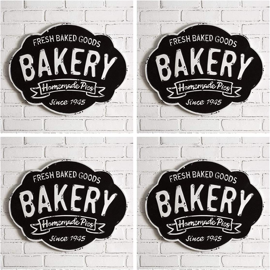 CTW Home Collection Ranking TOP13 Bakery Max 44% OFF Sign 4 Metal Decorative