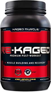 Post Workout Protein Powder, RE-KAGED Whey Protein Powder, Great Tasting Protein Shake with Whey Protein Isolate for Fast ...