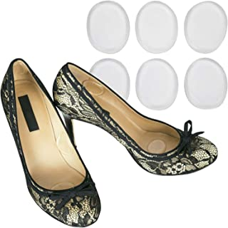 Vivesole Shoe Blister Pads - Sore Pain Prevention Foot Adhesive Shoe Cushion - Silicone Gel Soft Spot Sticker - Grip Insert Stickers - Loose Fit Feet Guard for Metatarsal, Heel, Achilles, Ball of Foot