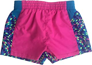 Skechers Girls' Elastic Waistband Lined Active Shorts