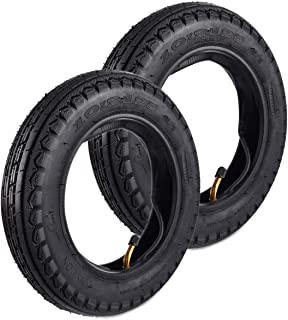 Wingsmotor 10 x 2.125 10 Tyre Non-Slip Tire + Tube for Smart Self Balancing 2-Wheel Scooter 10 Inch Unicycle Pack of 2 Sets